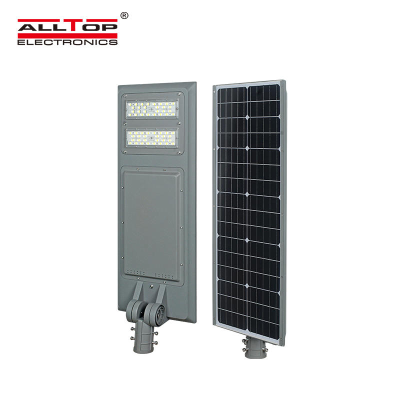 ALLTOP New products bridgelux smd ip65 outdoor 40w 60w 100w integrated all in one solar led street light price