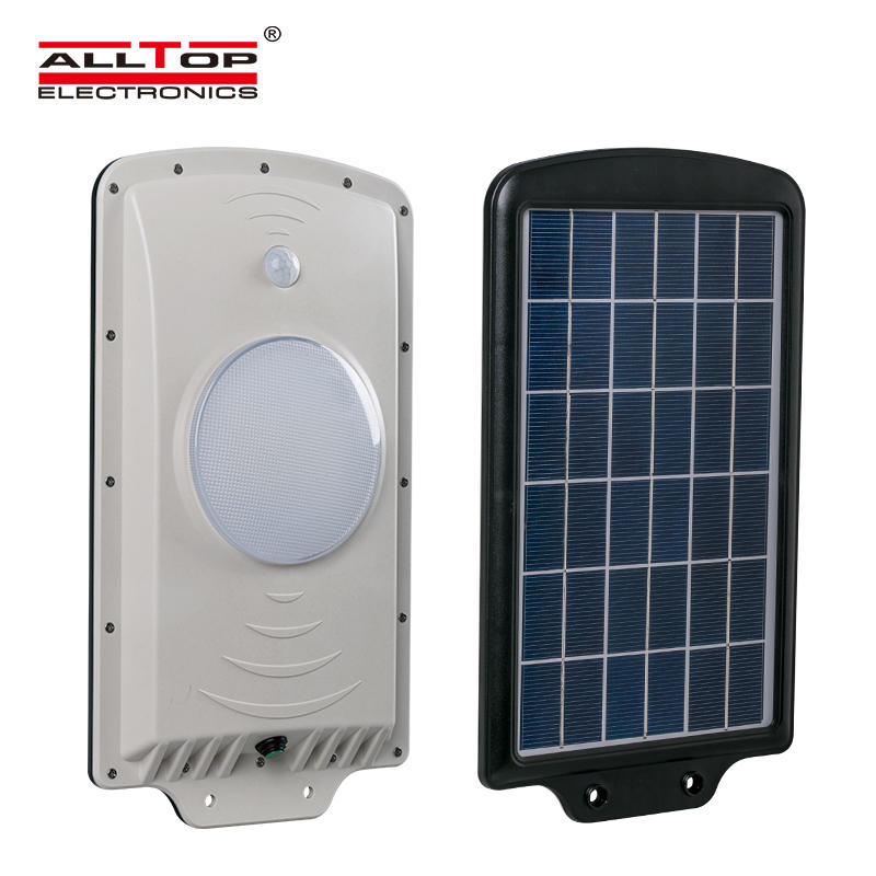 High lumen Aluminum Outdoor waterproof IP65 6w led solar street light