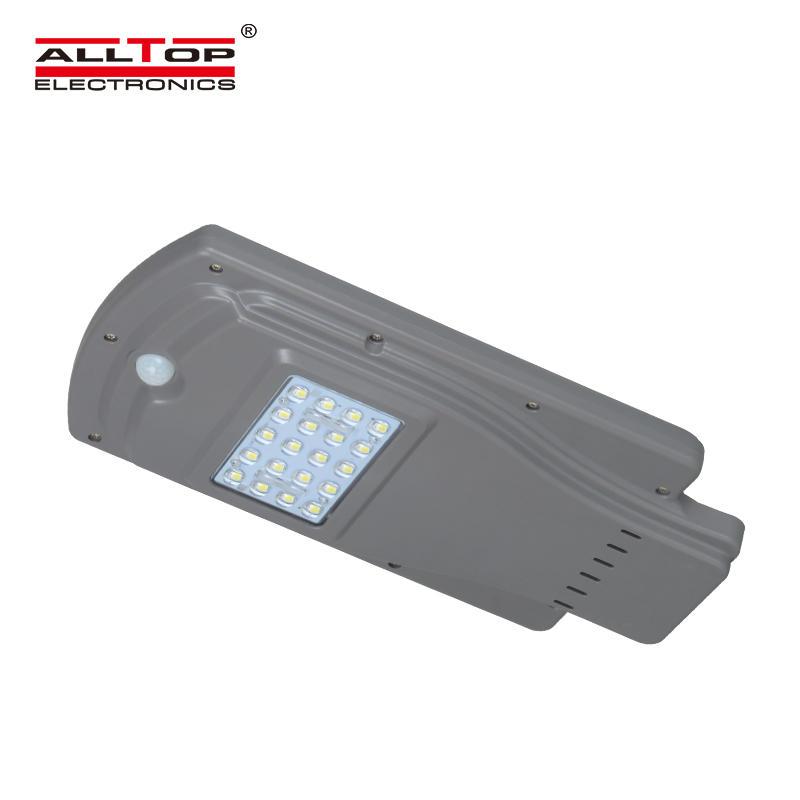ALLTOP IP65 waterproof bridgelux smd aluminum 20w 40w 60w all in one solar led street light