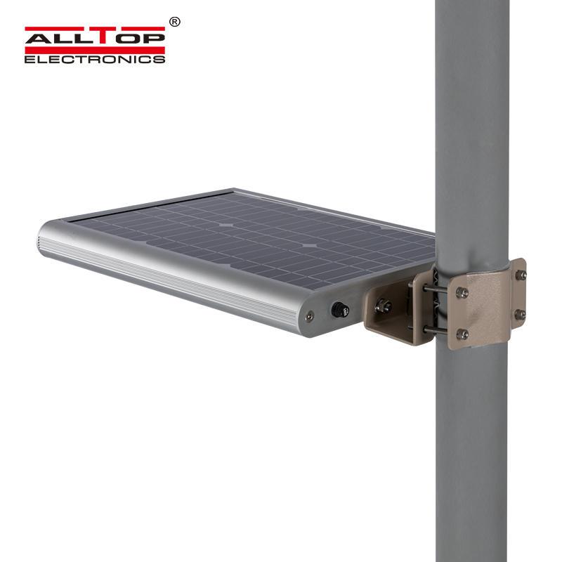 12v 12w integrated garden solar panel ip65 led street light