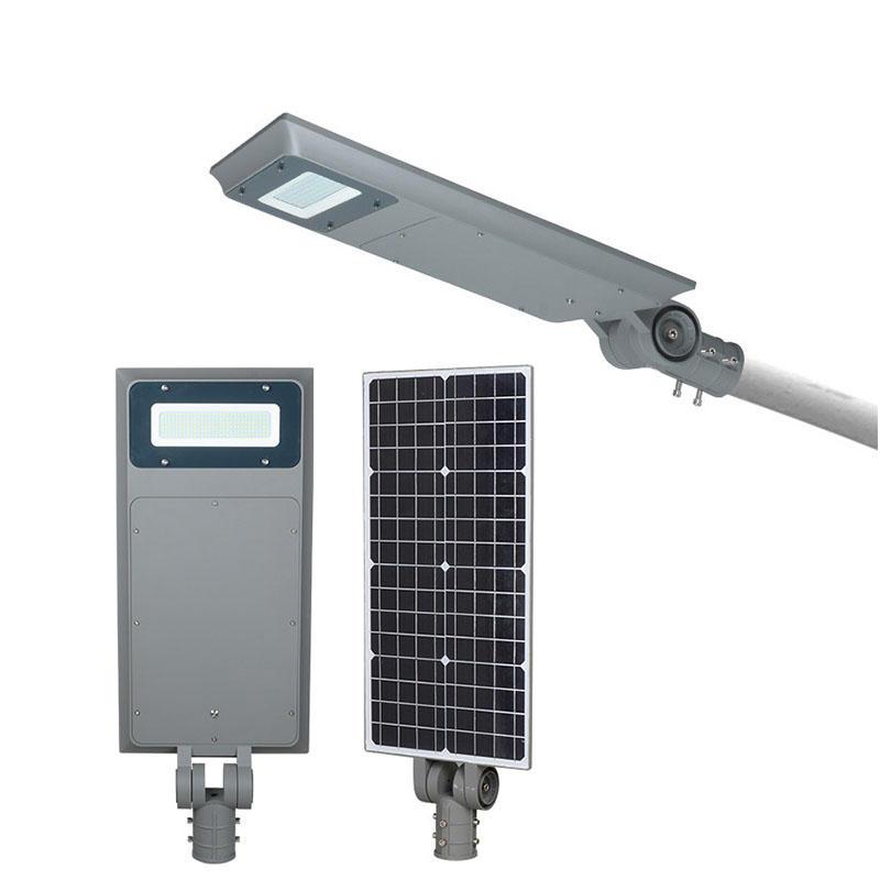 ALLTOP Automatic ip65 rainproof smd 40w 60w 100w all in one solar led street light