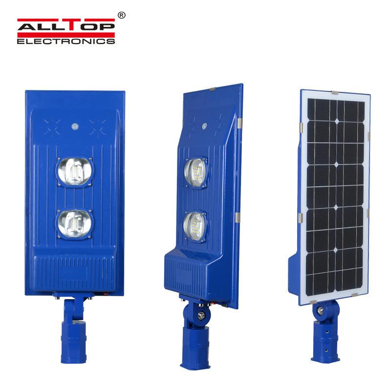 High lumen outdoor all In one 30w 60w waterproof led solar street light