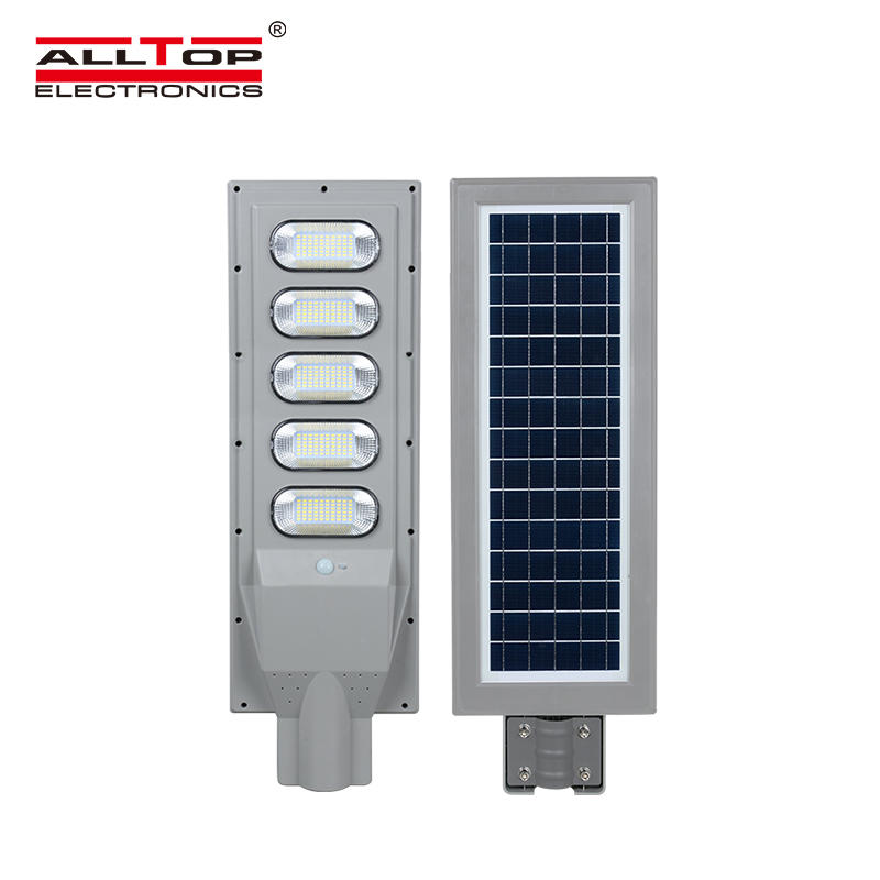 ALLTOP New product 30w 60w 90w 120w 150w IP65 outdoor integrated motion sensor all in one solar led street light price