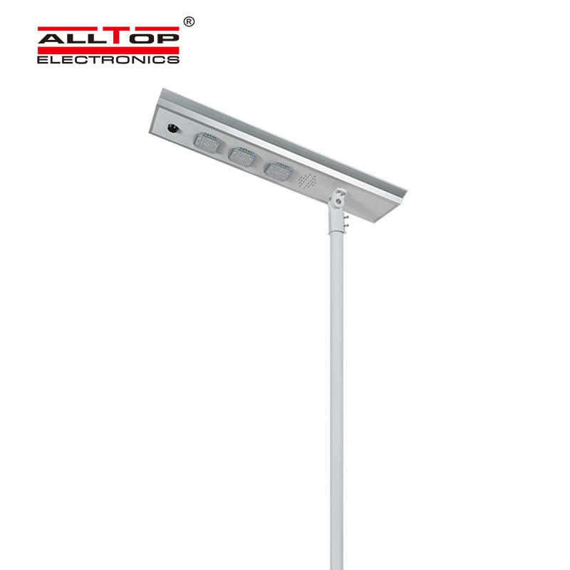 ALLTOP Wholesale price waterproof outdoor lighting ip65 smd 50w 100w 150w integrated all in one led solar streetlight