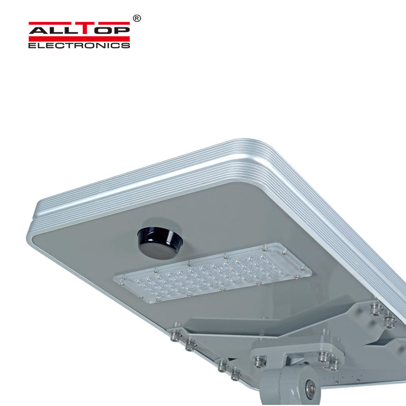 ALLTOP High quality outdoor lighting ip65 smd 50w 100w 150w 200w integrated all in one led solar street light