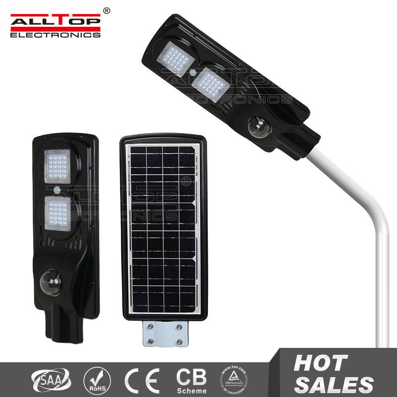 25w ip65 waterproof outdoor all in one led solar garden light