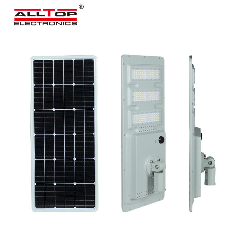 ALLTOP High luminary waterproof dimmable sensor ip65 smd 40w 60w 120w 180w integrated all in one solar led street light