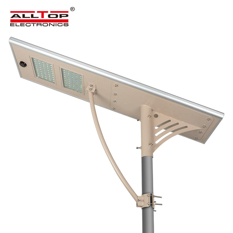 Outdoor IP65 80w All In One integrated led solar street light
