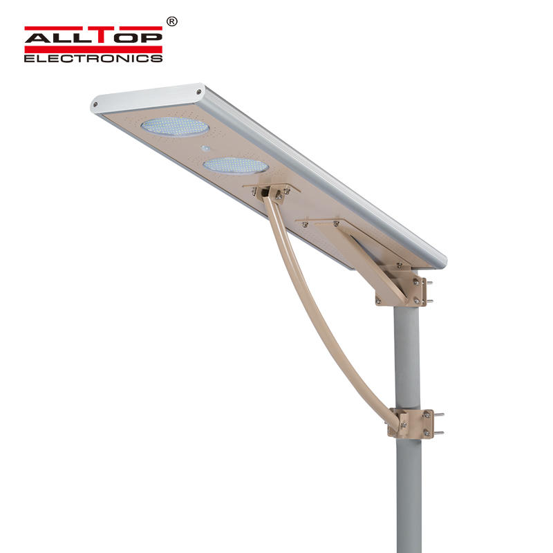 High quality waterproof aluminum all in one solar 40w street led lights