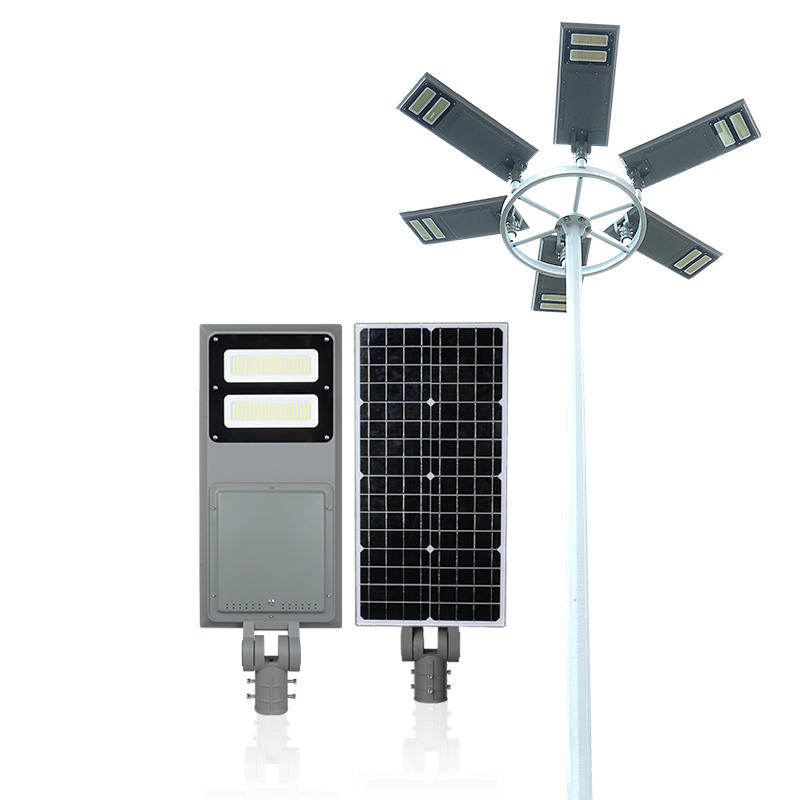 Factory price energy saving 40w 60w 100w outdoor ip65 waterproof built in battery all in one solar led street light