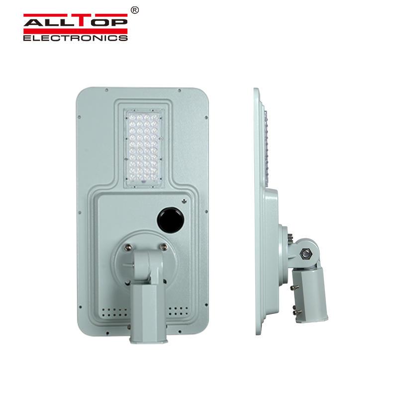 ALLTOP High efficiency outdoor lighting waterproof ip65 smd 40w 60w 120w 180w integrated all in one led solar street light