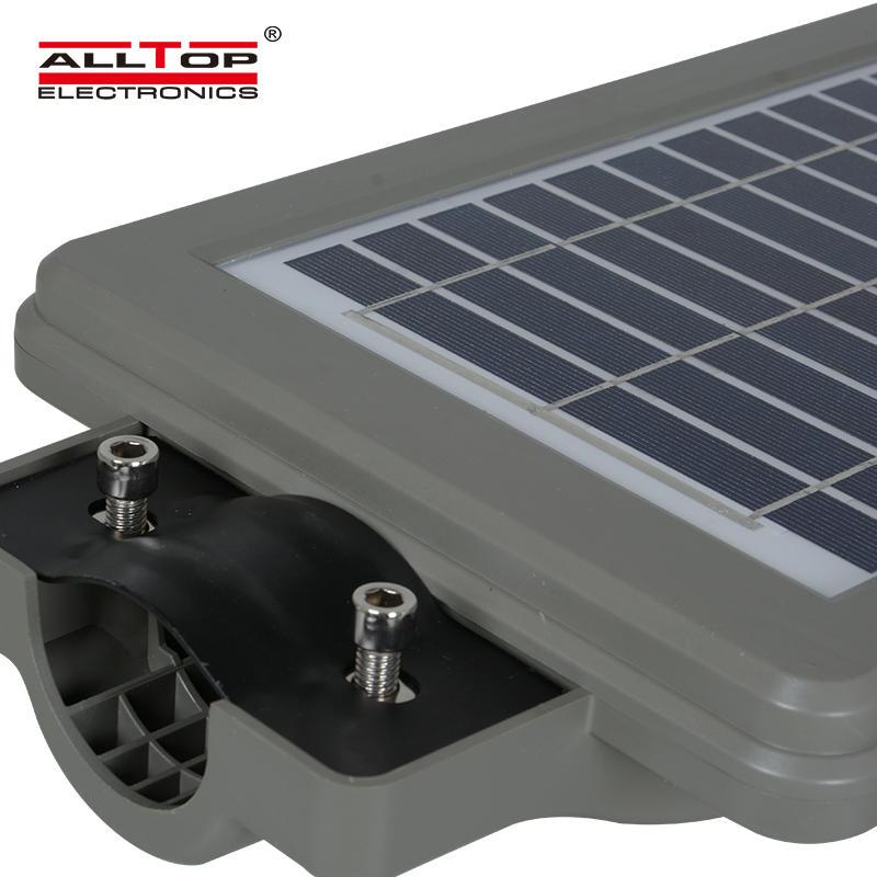 High power ip65 waterproof outdoor 30w 60w 90w Bridgelux integrated all in one solar led street light price