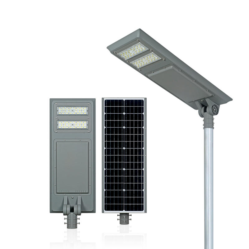 ALLTOP IP65 waterproof smd 40w 60w100w integrated all in one led solar street light