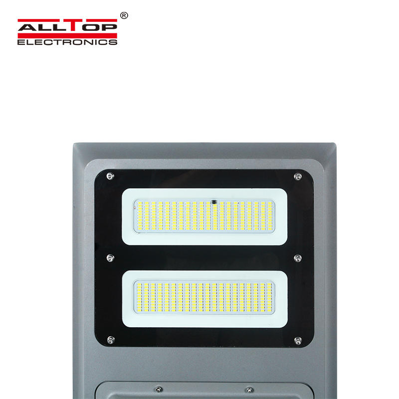ALLTOP Waterproof ip65 outdoor 100w intergrated smd all in one solar led street light price