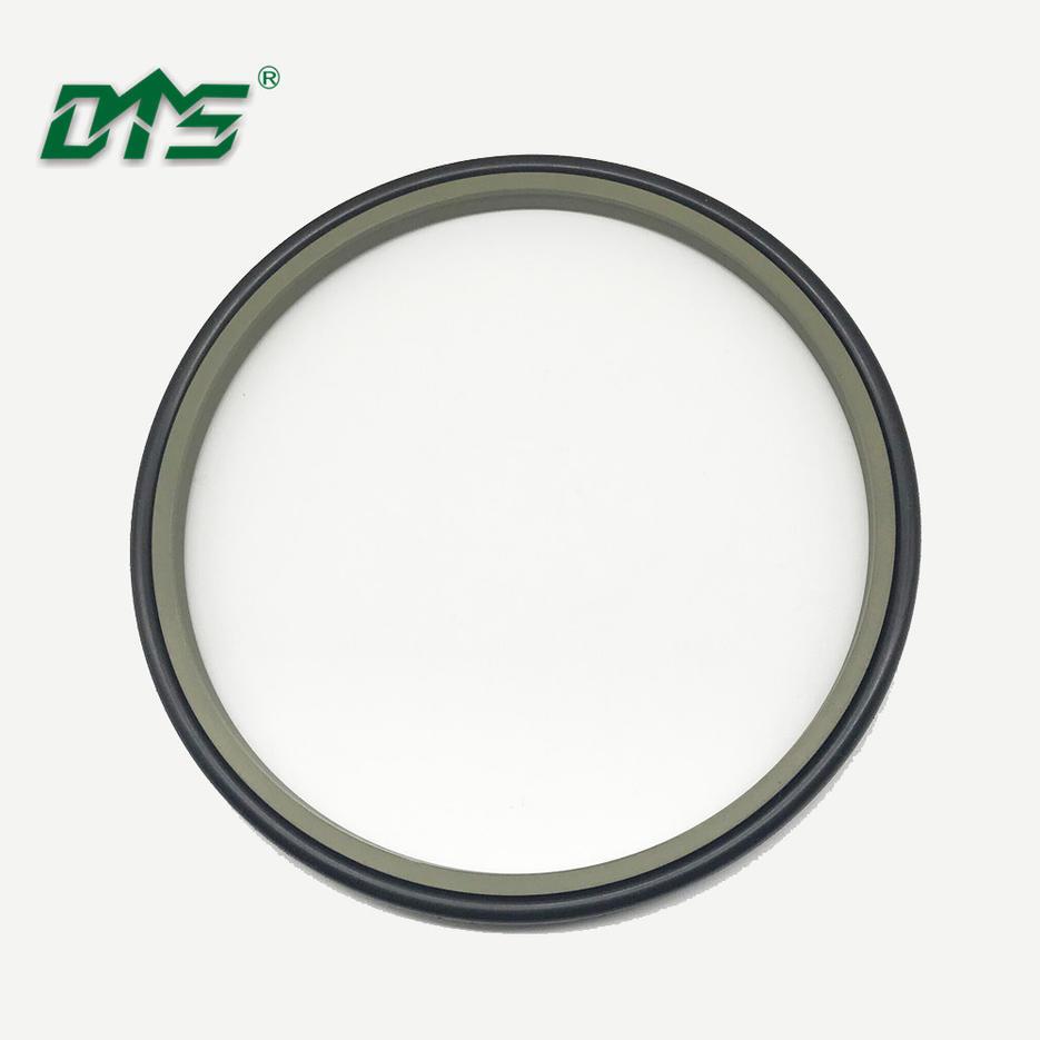 China Manufacture Filled PTFE Bronze Hydraulic Wiper Seal DPT1