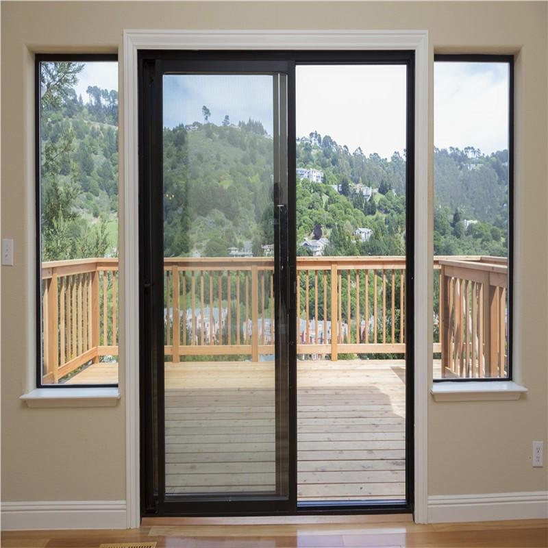 white aluminum sliding door large sliding glass doors from China