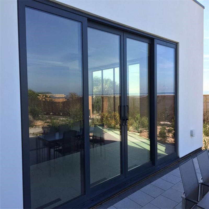 6mm Single Glass Easy to Install Thermal Insulation Aluminum Sliding Door Manufacturer