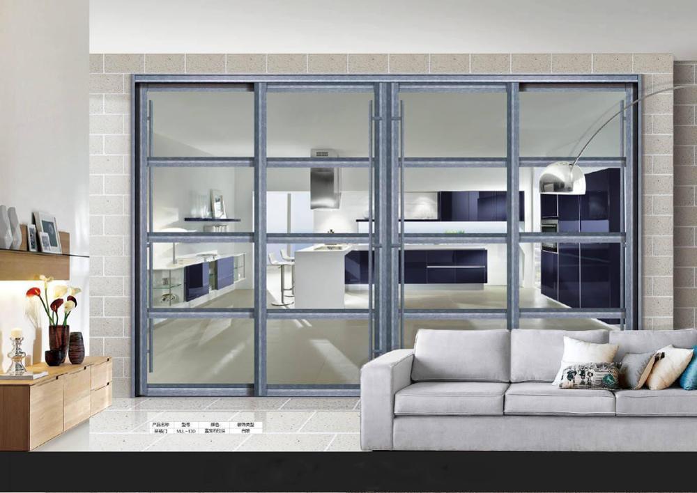 Standard size aluminium exterior stacker sliding door aluminium sliding doors