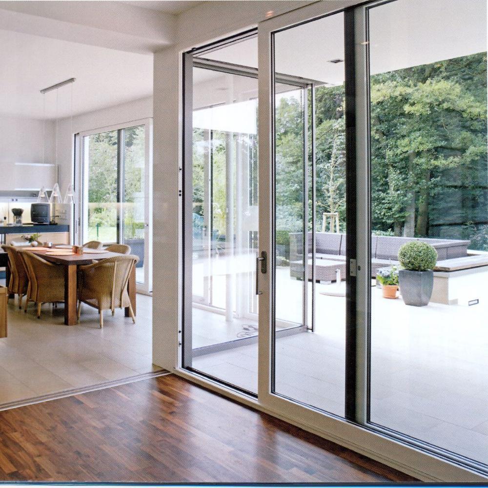 Thermal Broken Heat Prevention Sound Insulation Beautiful Appearance Aluminum Sliding Door