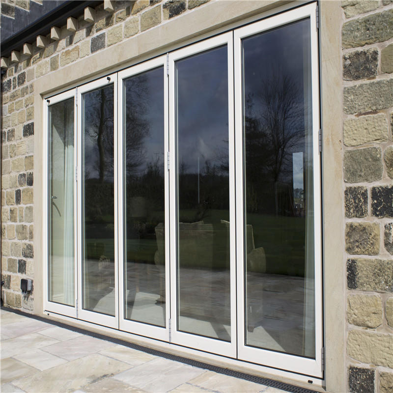 8mm Single Glass Horizontal Modern Excellent Quality Aluminum Sliding Door for Villa or House