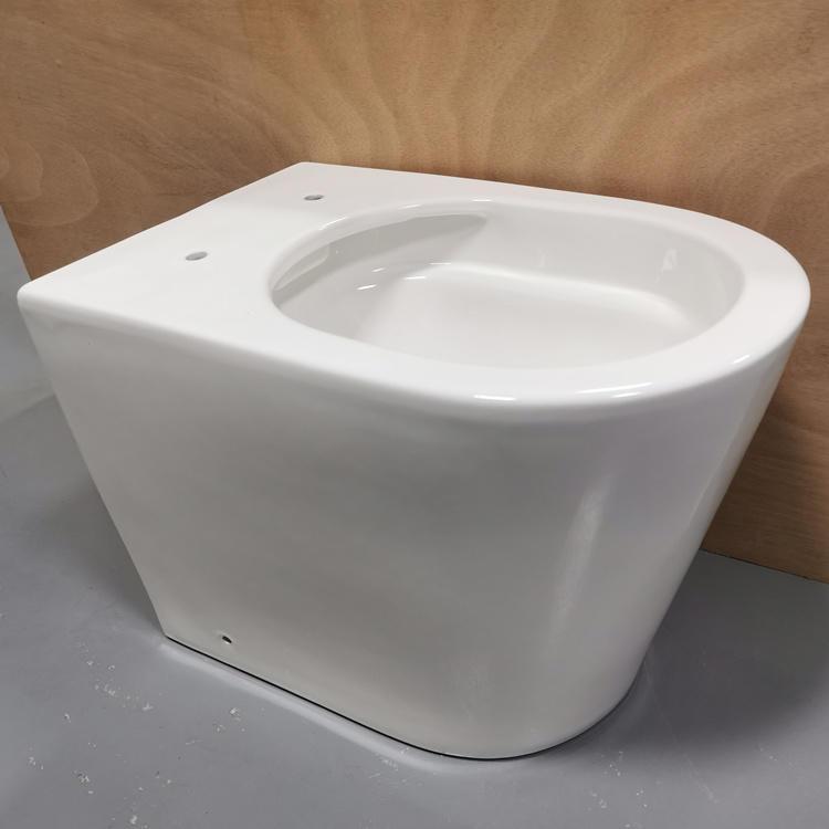 Bathroom supplies ceramic S-trap floor toilet bowl seats