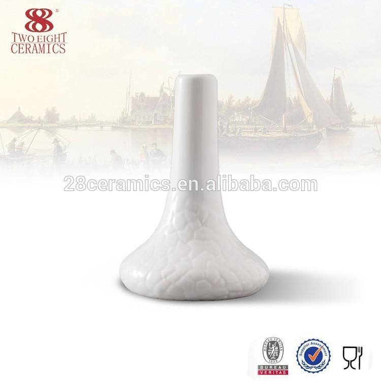 Bone china restaurant table wholesale flower vase