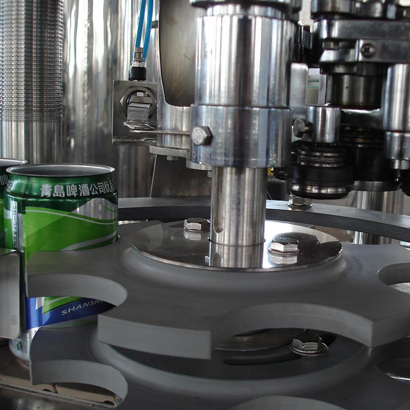 Semi atomatic Aluminum beer can bottling filling machine small line