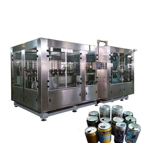 Soda BeverageWater Drinks Aluminum beer can filling and sealing machine