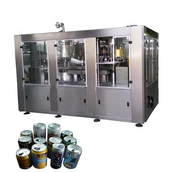 Carbonated Drinks Can Filling Sealing and Capping Machine