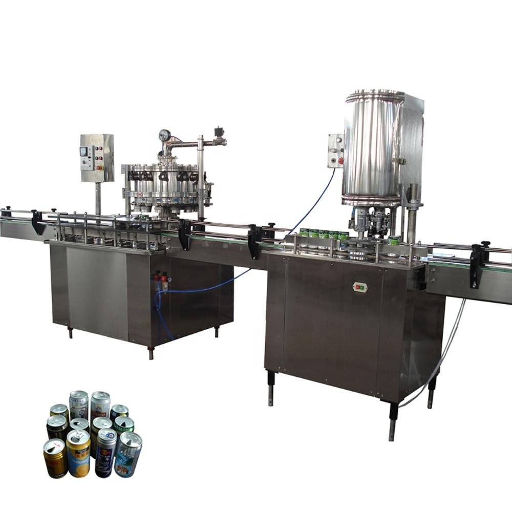 Automatic fully Aluminum Can Filling Machine production linefor sale