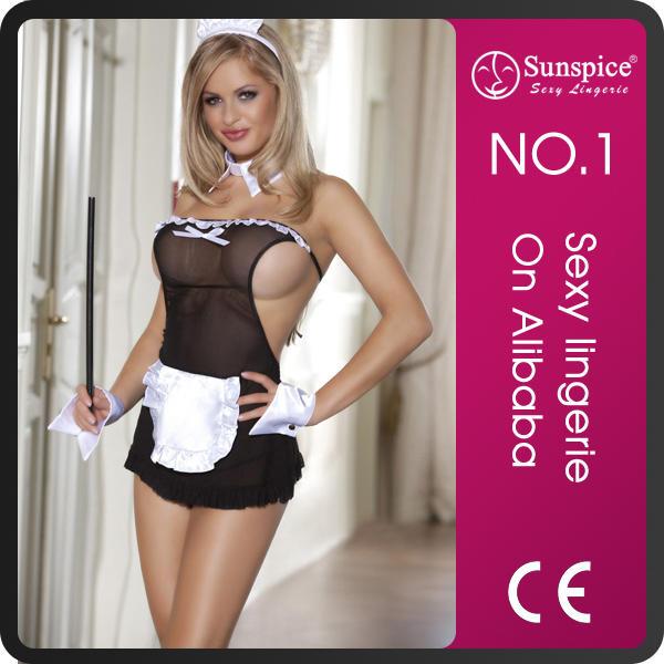 Latest design top quality beauty maid costume fancy dress adult fairy