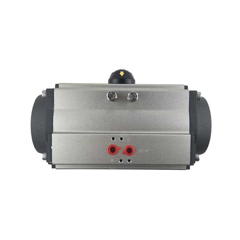 Electric Valve Actuator AT92 AT105 Ball Valve Actuator Rotary Pneumatic Actuator
