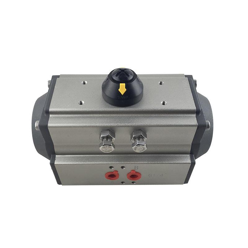 Pneumatic System Components AT75 AT83 Pneumatic Valve Actuator Double Acting Pneumatic Actuator