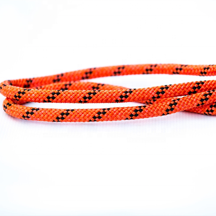 High performance wholesale customized package and size fast shipping 16/ 32/ 48 strand nylon static climbing rope towing rope