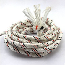 High quality customized package and sizeCE certificatebraided nylon/ polyesterstrong static climbing ropesafetyrope