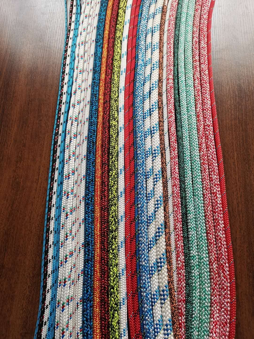 Wholesale high quality customized package and size polyester/UHMWPEperformance sailing rope