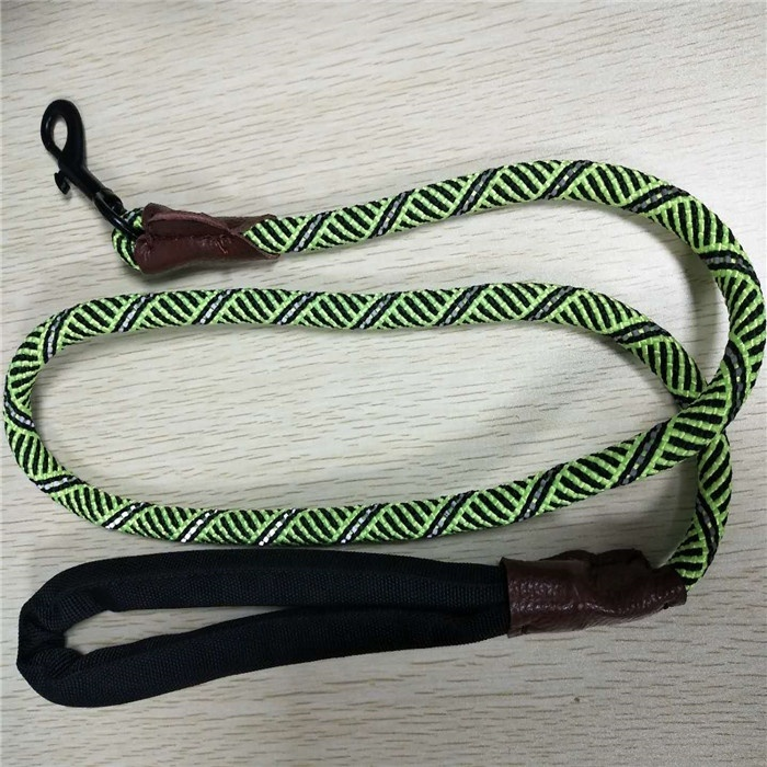High performance customized package and size 48 strand braided pet rope dog leash
