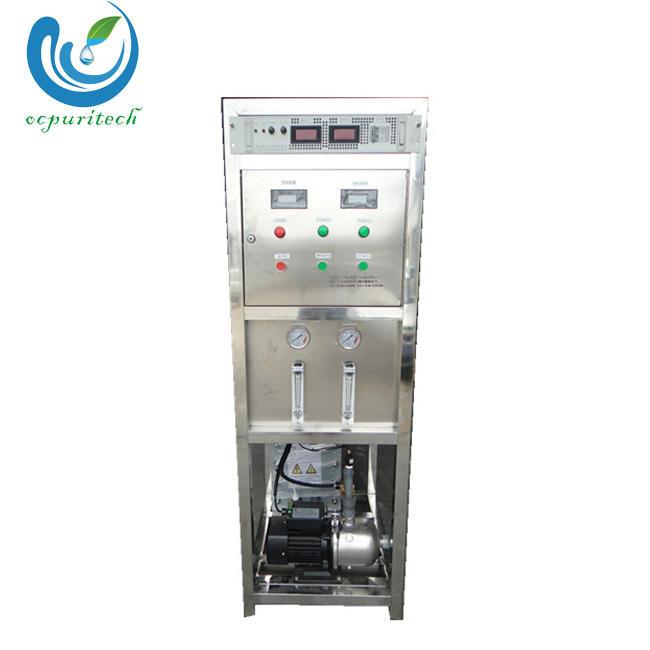 Electro-deionization technology EDI water treatment ultrapure water