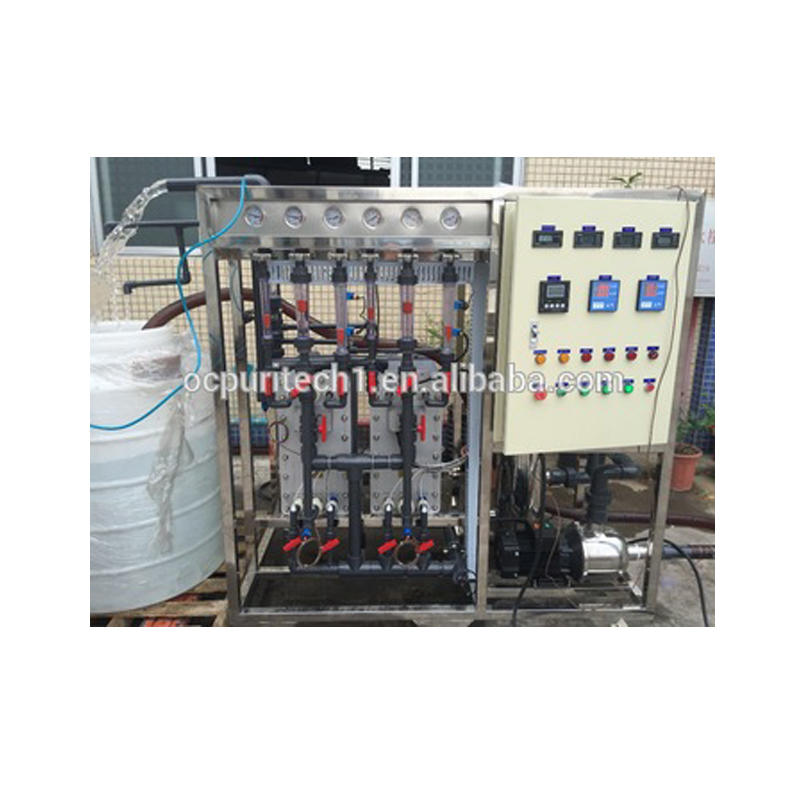 RO EDI water treatment system / machine / plant for electronic medical cosmetics use