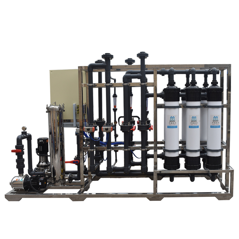 China manufacturer 6000L/h ultra-pure water deionized plant