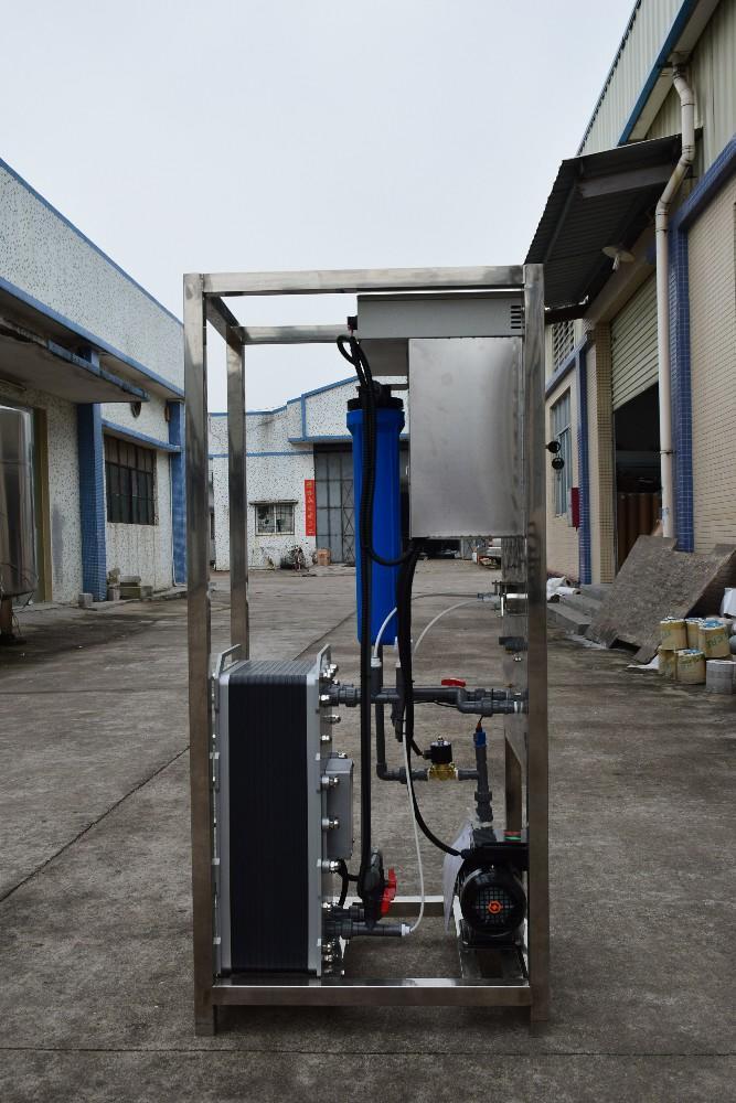 TDS 0 ultra pure water deionized machine 1000l edi water treatment system