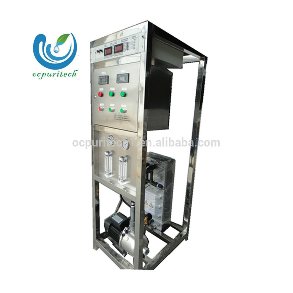 EDI electrodialysis purify ultra pure water treatment system for medical