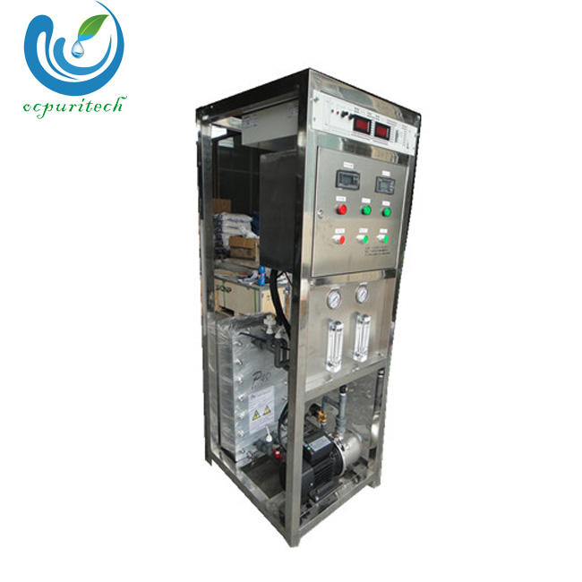 Electro-deionization technology EDI water treatment ultrapure water