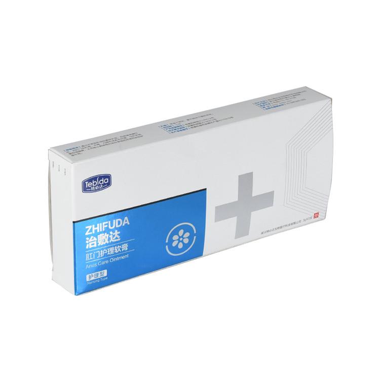 Custom Printed Pharmaceutical Medicine Paper Carton Packaging Box
