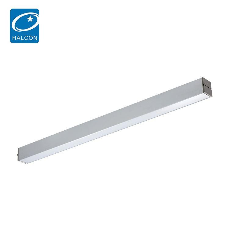 High lumen up and down light 4ft 30 40 watt led office lamp