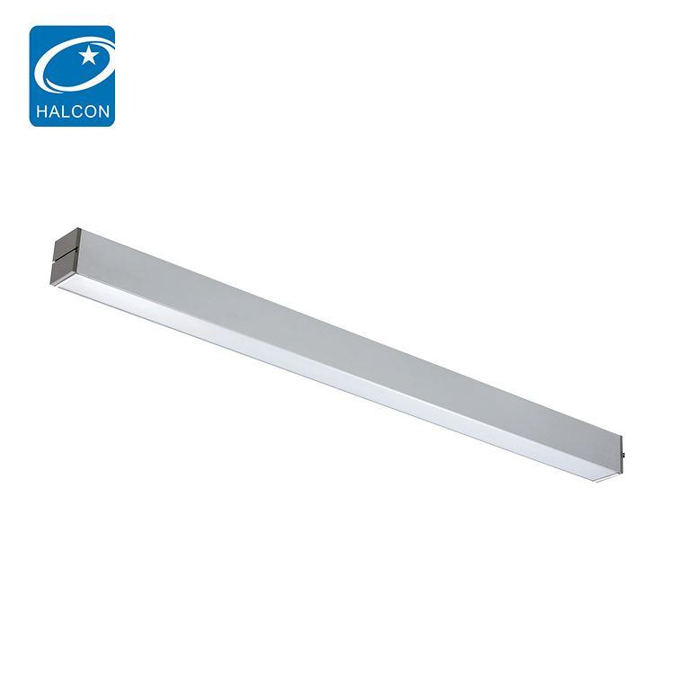 Low power hospital adjustable 4ft 30w 40w led lamp