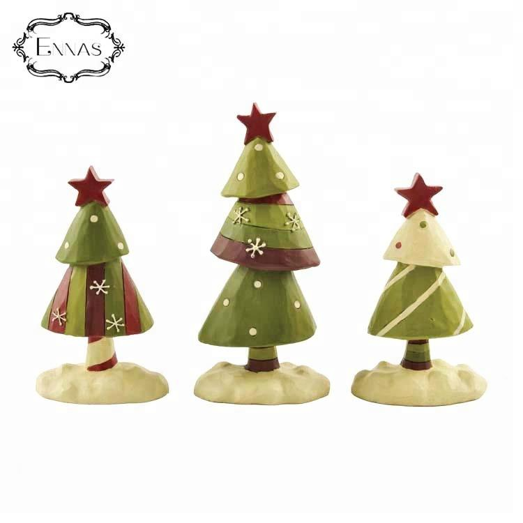 Wholesale suppliers polyresin christmas tree ornaments