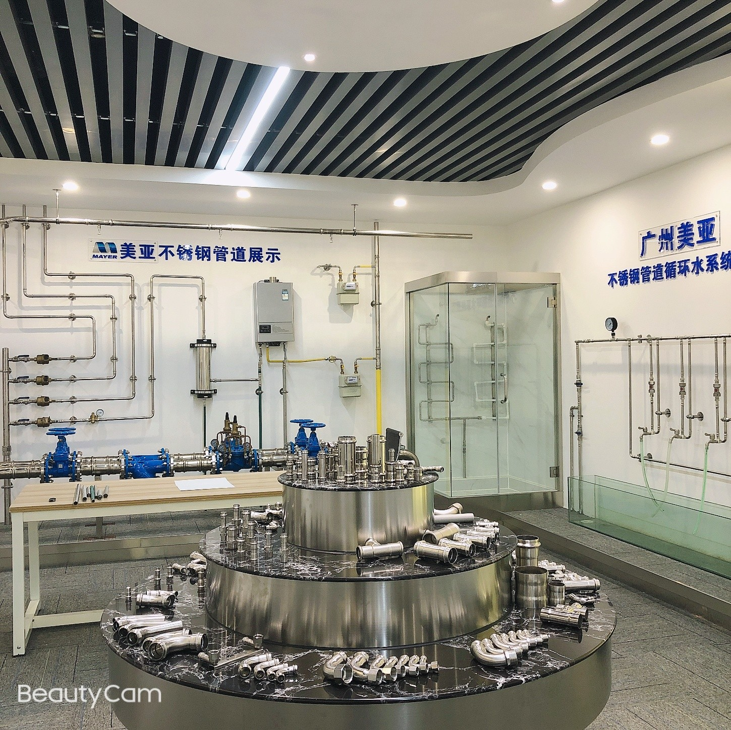 stainless steel fitting DVGW equal coupling pipe fitting 304/316L