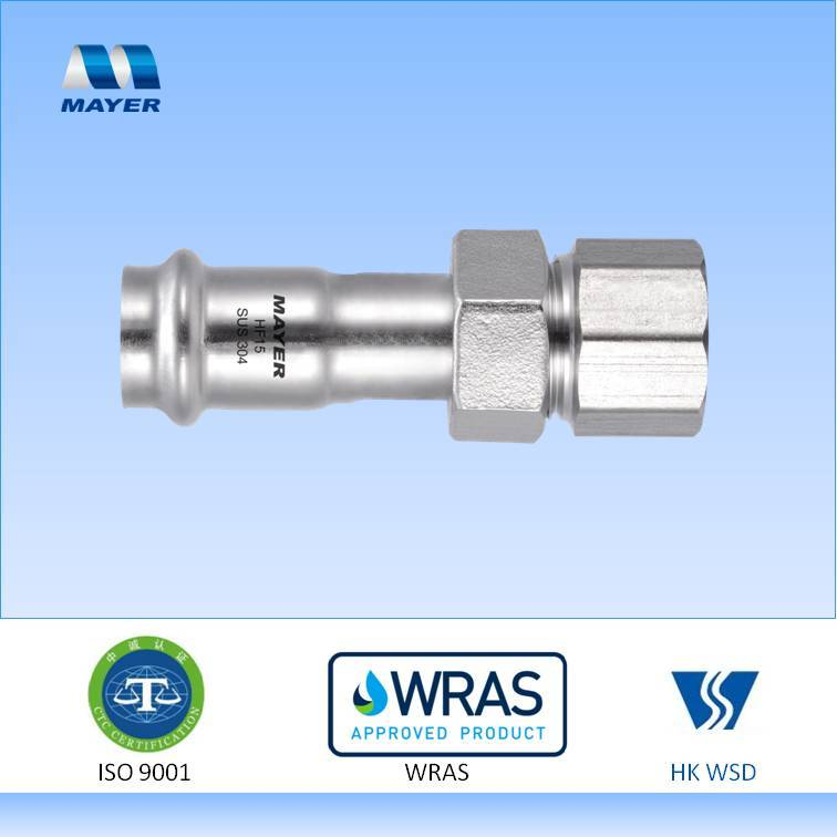 Good quality male female union fitting stainless steel 304
