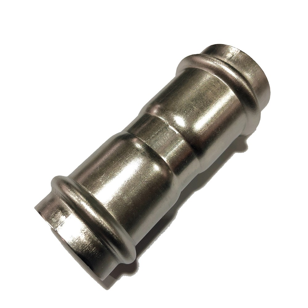 wholesale stainless steel press pipe fitting-equal couplings V profile adaptor